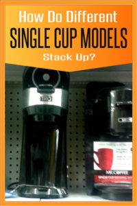 single cup coffee makers comparison