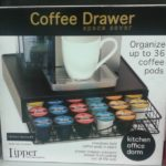keurig coffee pod drawer holder