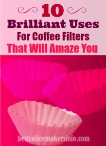 household uses for coffee filters