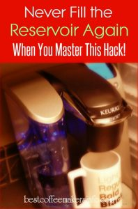 connect keurig to a water line