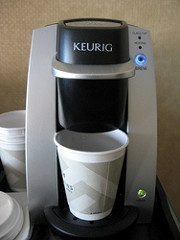 single cup coffee brewer for office