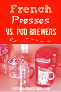 keurig vs french press