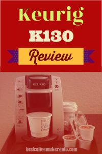 keurig k130 review